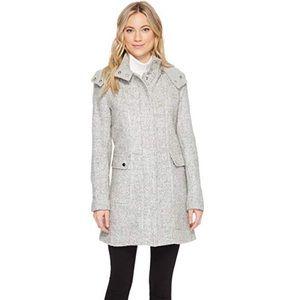 Kenneth Cole novelty wool duffle coat